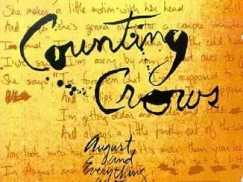 """Counting Crows - Round Here  """"And in between the moon and you, The angels get a better view, Of the crumbling difference, Between wrong and right…."""""""