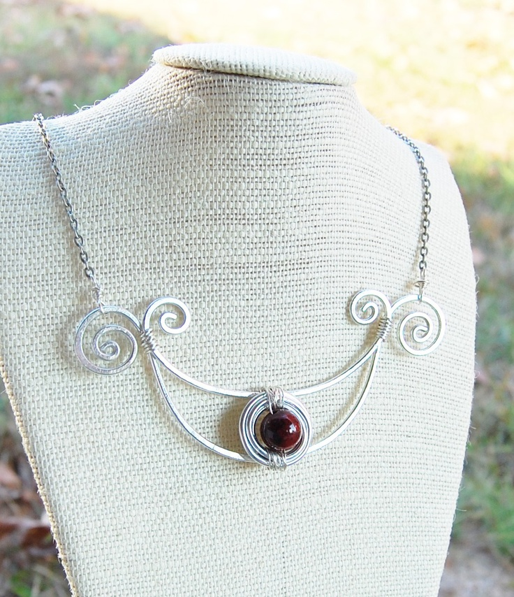 175 best WIRE STATEMENT NECKLACES images on Pinterest | Jewelry ...