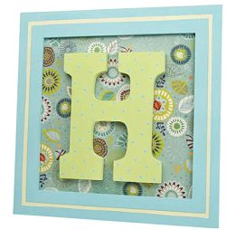 {DIY Craft Projects} How to Make a Monogram Frame