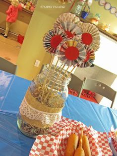 30th Birthday, County Fair Theme Birthday Party Ideas   Photo 3 of 49   Catch My Party