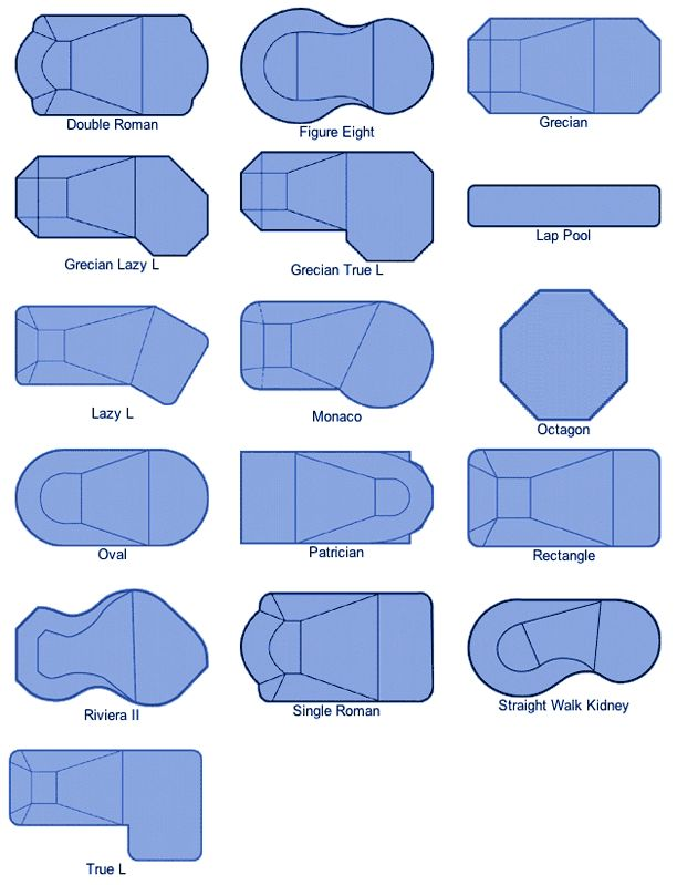 Best 25 pool shapes ideas on pinterest pool designs for Bathtub shapes and sizes
