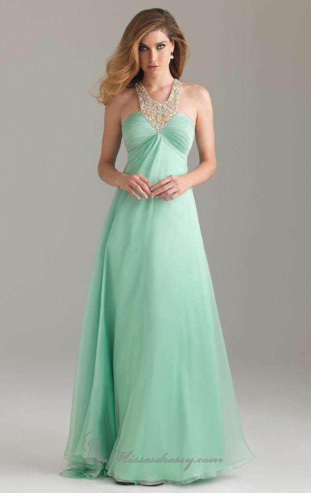 Stunning Mint Green Dress @Maddie Neuman W found your prom dress!