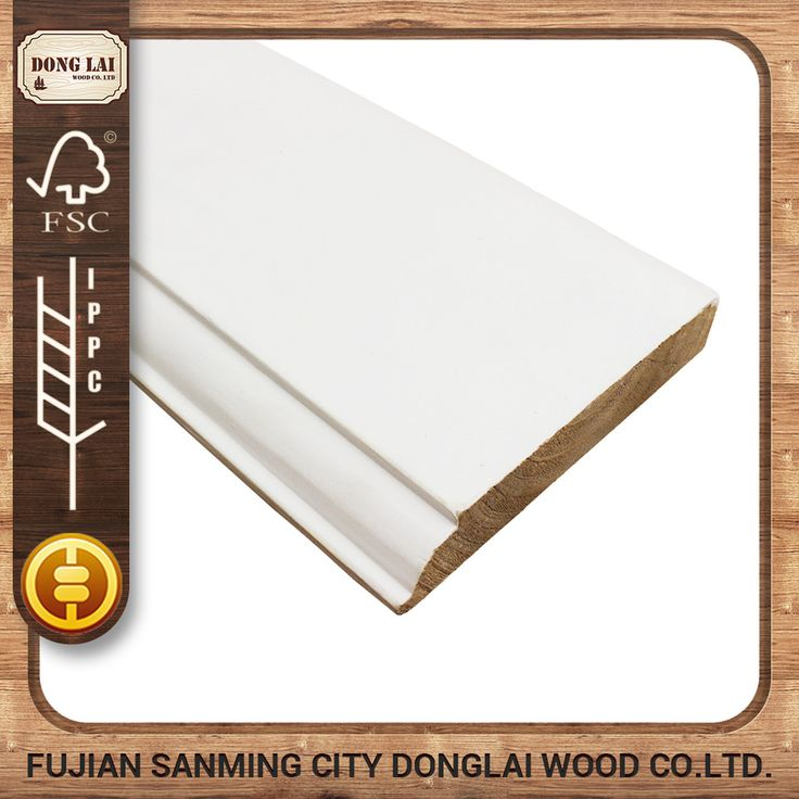 Waterproof High Quality Frp Skirting Baseboard Lowes