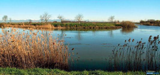 Der Fluss Sile bei Trepalade. Foto von Gianni Bodini. #Viaclaudia #italy