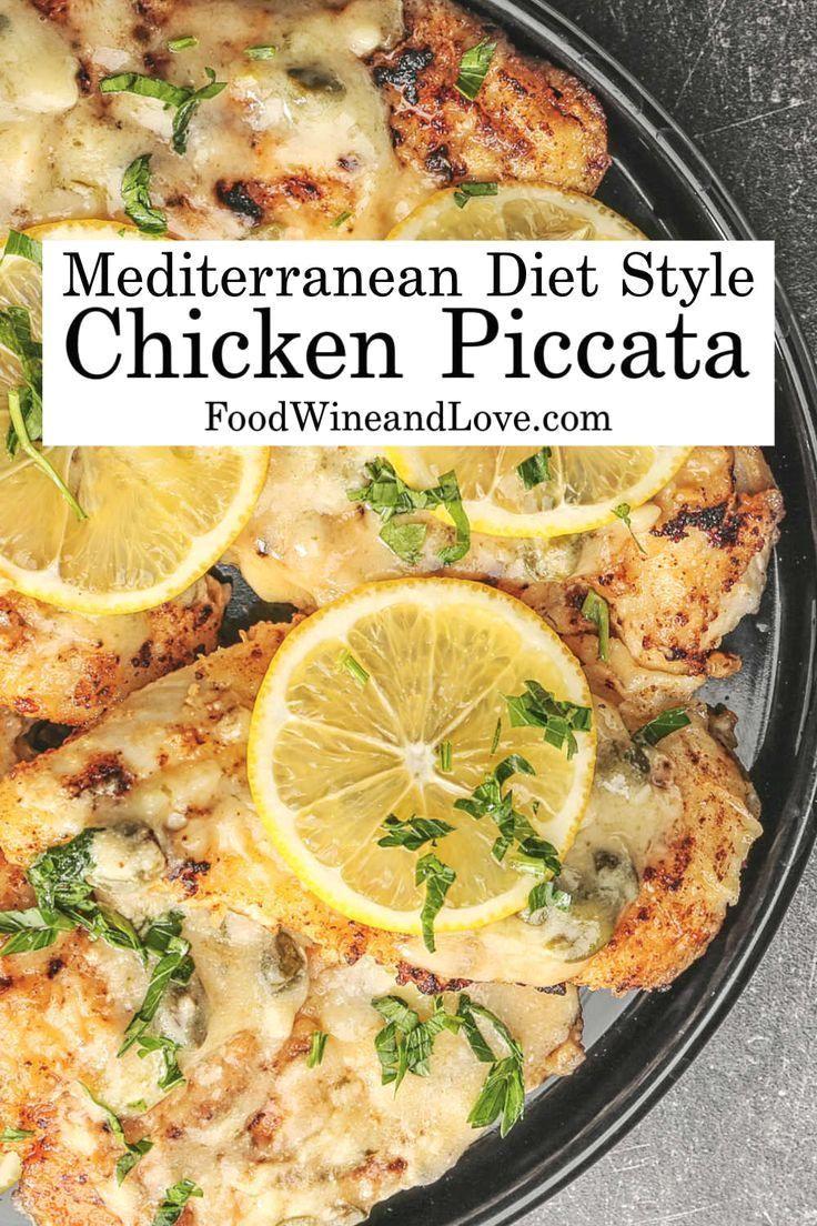 chicken piccata mediterranean diet for dummies