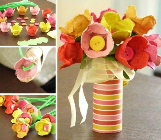 Les 25 meilleures id es de la cat gorie bouquet de bouton sur pinterest boutons bouton et Bricolage printemps objets naturels idees