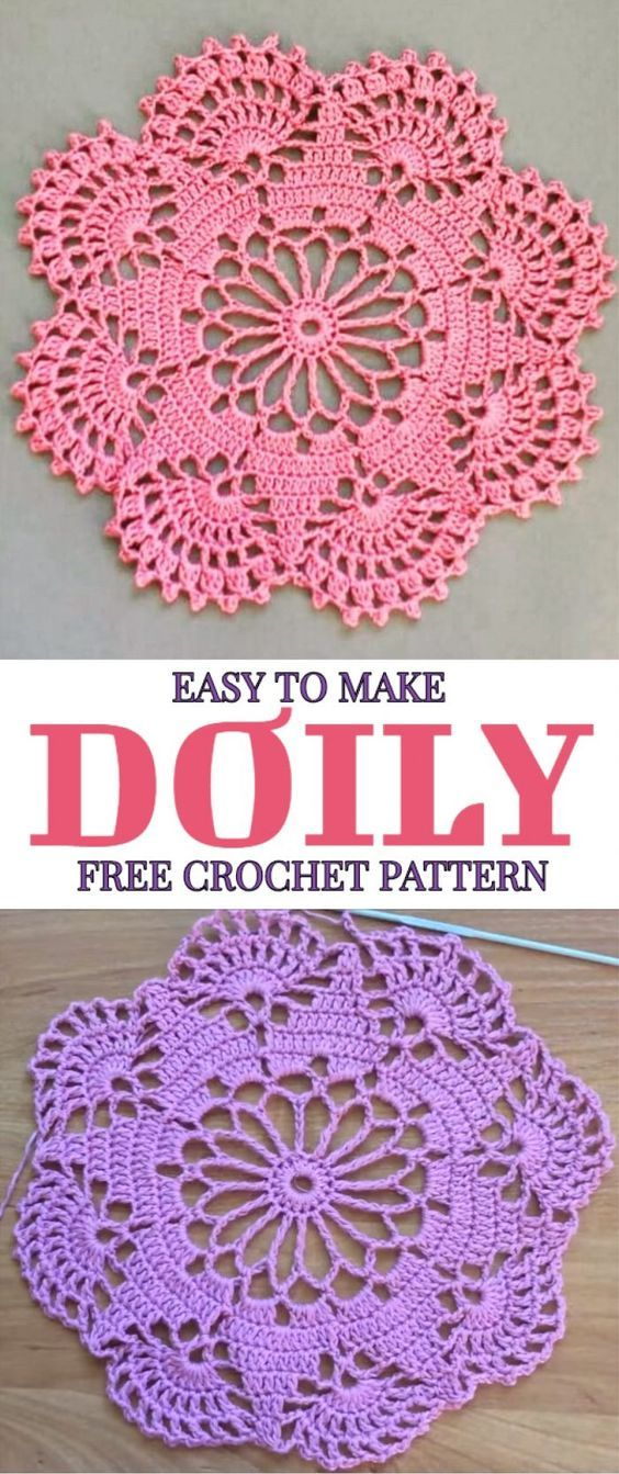 Easy To Make Doily Free Crochet Pattern Crochet Dollies Crochet