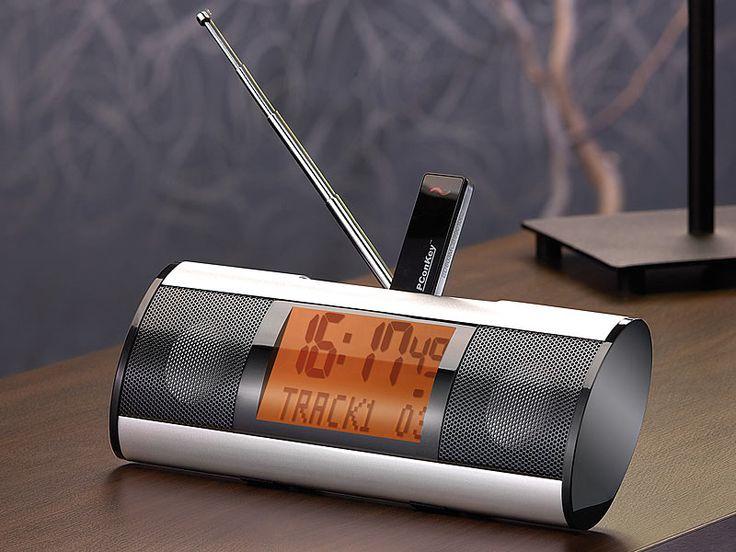 auvisio portable mp3 station mps 440 mit akku radio wecker audio pinterest. Black Bedroom Furniture Sets. Home Design Ideas