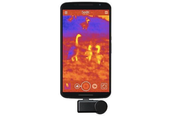 SEEK Compact XR Thermal Image Camera - http://www.gadget.com/2017/12/seek-compact-xr-thermal-image-camera/ thermal image camera