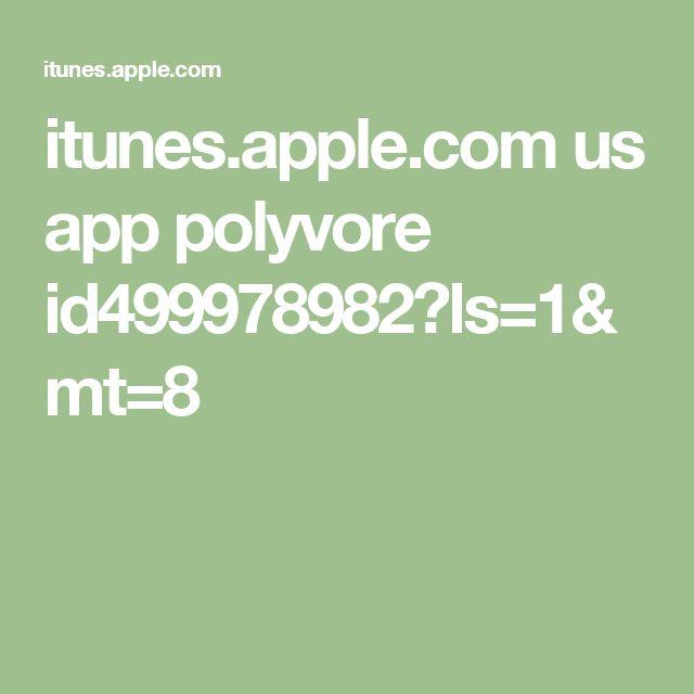 itunes.apple.com us app polyvore id499978982?ls=1&mt=8