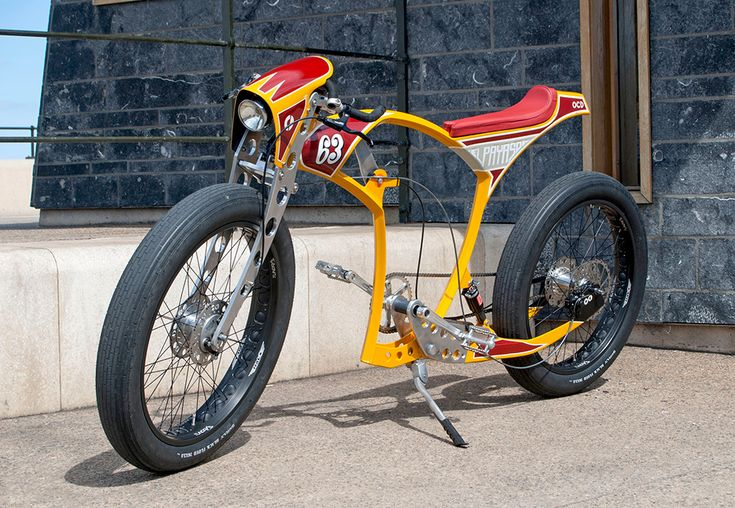 Custom Cafe Racer Bicycle