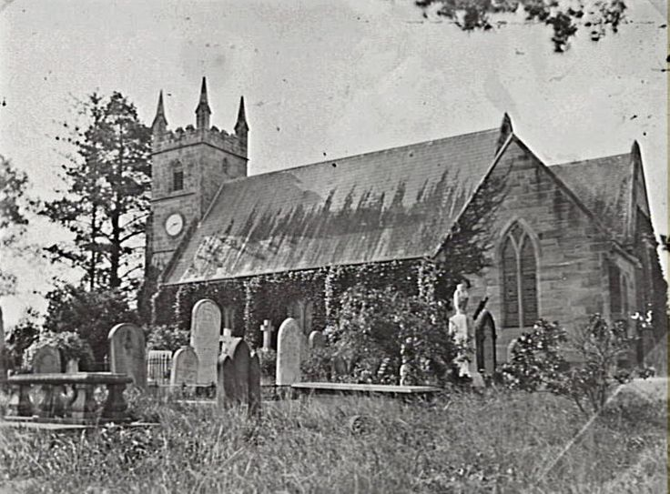 St Anne's Church and graveyard, Ryde, NSW - erected 1826