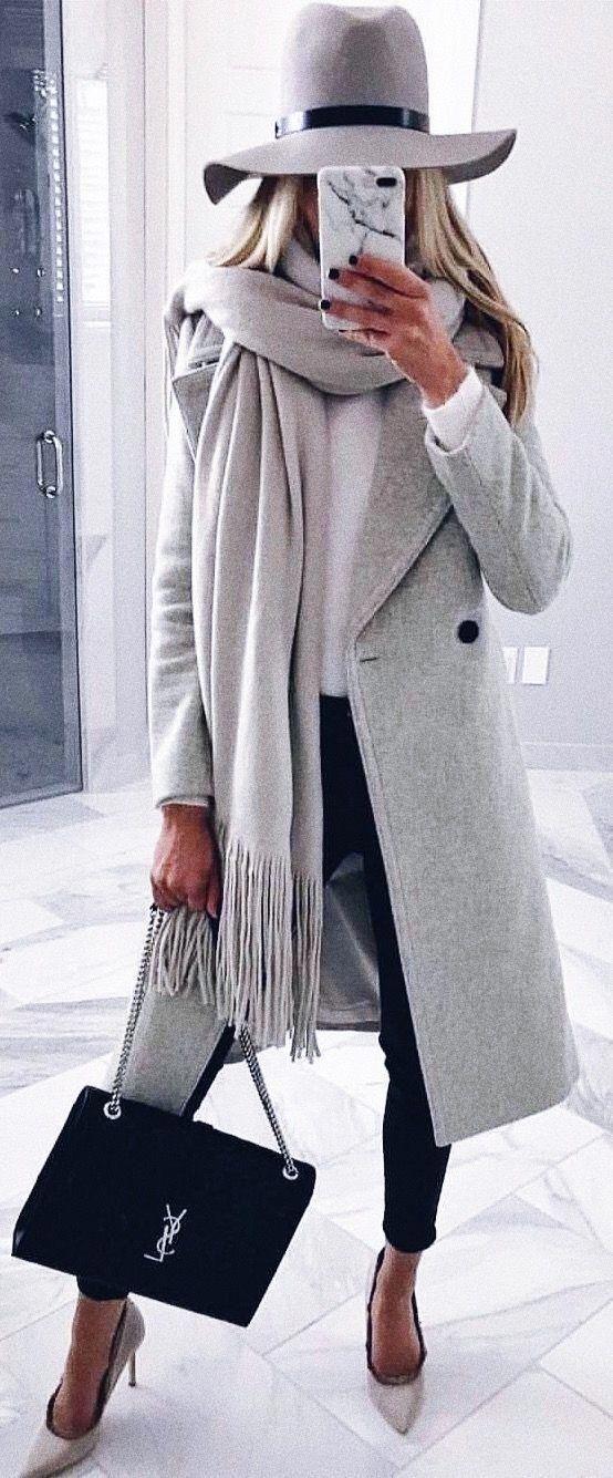 Wunderschönes graues Outfit | Gespeichert zu Schönheit ÜBER 40 | Willkommen zu meiner Schönheit über 40 In …