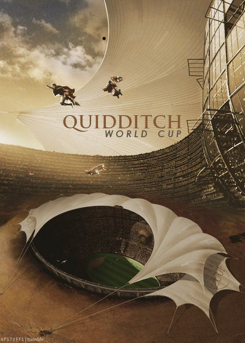 Straight from the Triwizard Quidditch Tournament... -- Quidditch World Cup