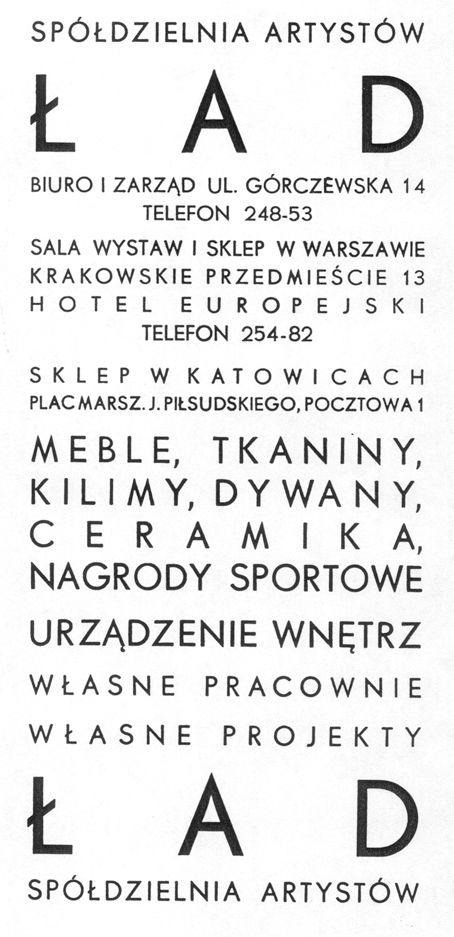 Spółdzielnia ŁAD-prekursorzy polskiego wzornictwa przemysłowego