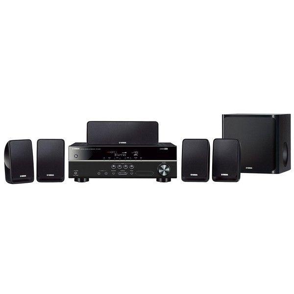 nice Home Theater Yamaha YHT - 1810BL 5.1 Canais 600W RMS ZR91040 2888186