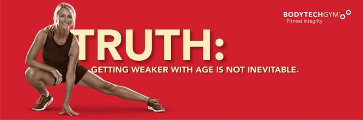 GETTING WEAKER WITH AGE IS NOT INEVITABLE  Fitness Truths on Strength with BodyTech founder, Peter Rana.