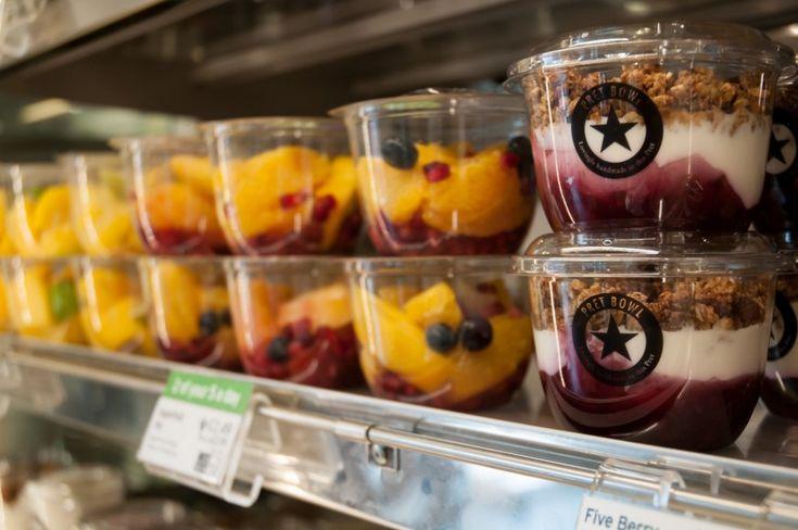 Pret a Manger Salad | Pret A Manger hails impact of fruit