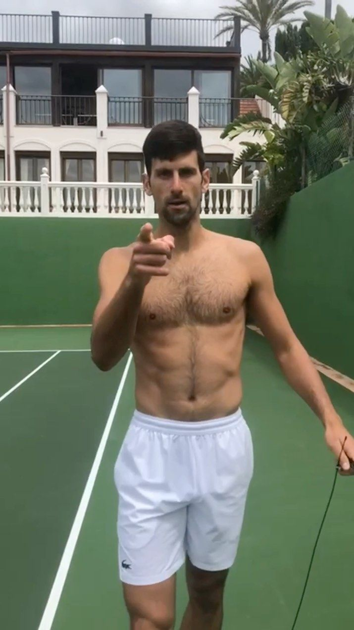 groopii: shirtless male celebrities and tennis players