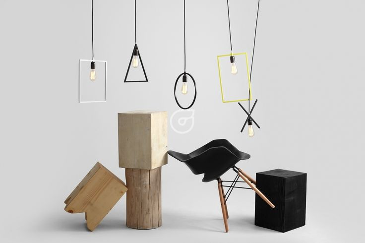 Mix of amazing lamps. Colorful and simple design.