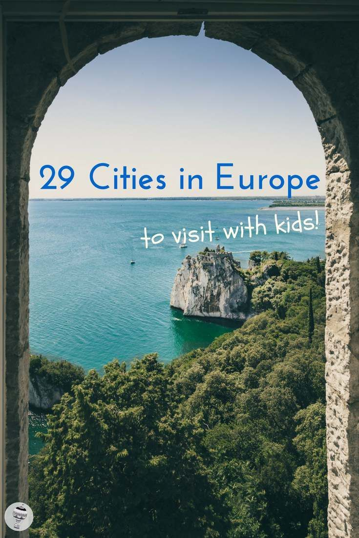 Europe with Kids: 29 Family Travel bloggers share their favourite cities in Europe for a family city break I #FamilyTravel