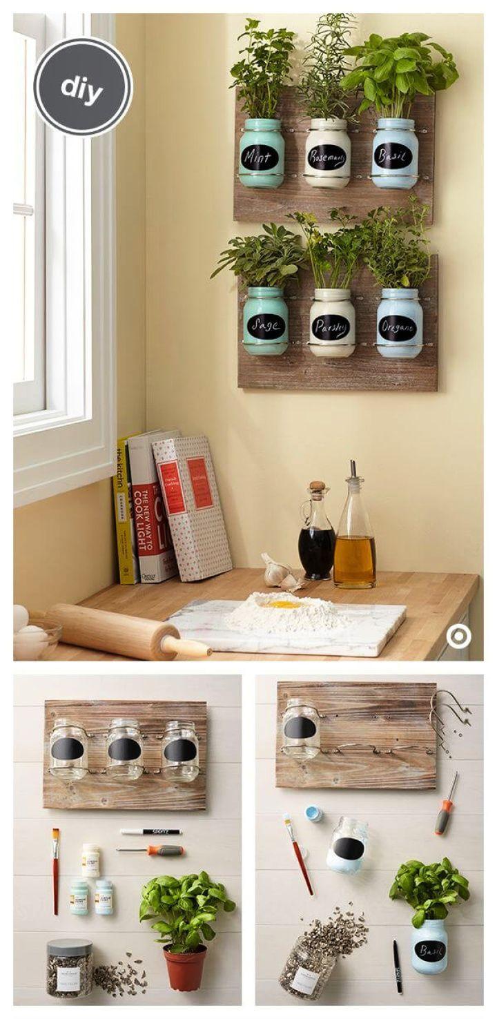DIY Way to Organize: 25 Creative DIY Mason Jar Ide…