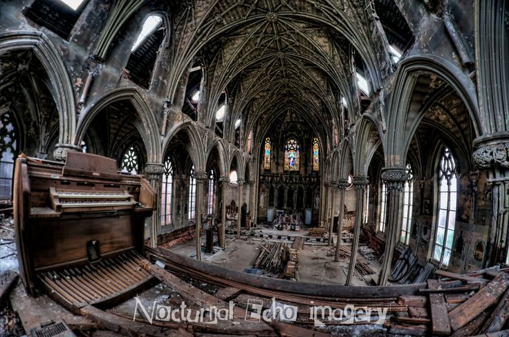 Abandoned Church Founded: 1845  Construction: 1849 Closed: 1995