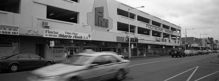 Footscray Market from across the road
