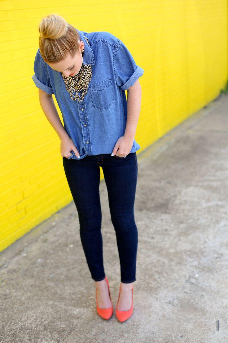 How to Wear Denim-on-Denim