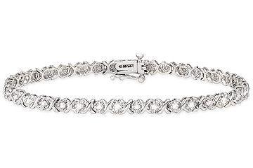 1 CARAT DIAMOND 10K WHITE GOLD BRACELET: Bracelets Diamonds, Diamond Tennis Bracelet, Carat Tennis, Gold Bracelets, Carat Diamonds, Diamonds Gold, 10K White, Diamonds Tennis Bracelets, Diamonds 10K