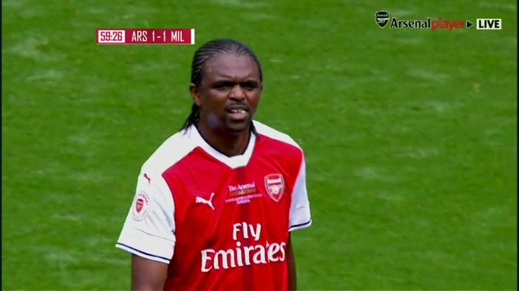Nwanko Kanu - Arsenal legends