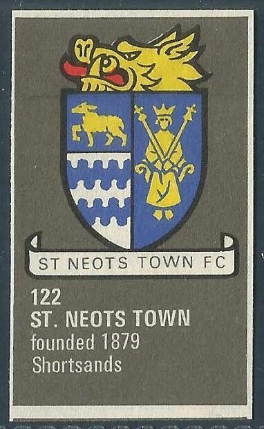 St Neots Town of England crest.