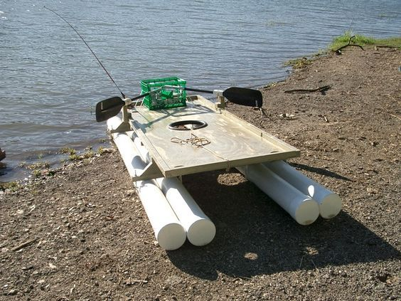 Small Homemade Pontoon Boat Plans | homemade boats | Small pontoon boats, Pontoon boat, Raft boat