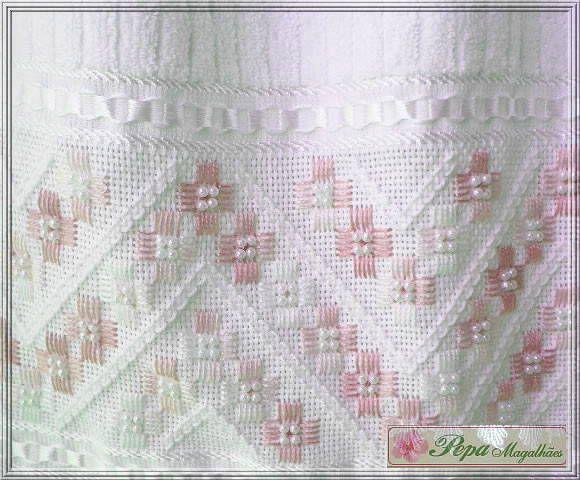 Toalha de Lavabo | Ateliê Pepa Magalhães | 141130 - Elo7