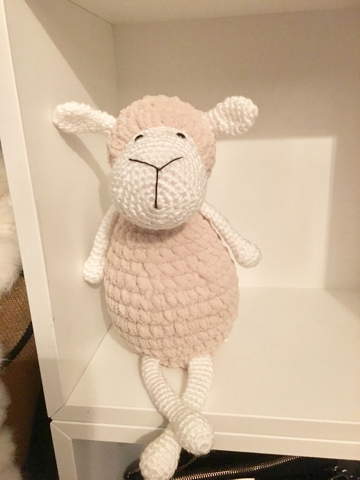 My sheep I made really happy with her