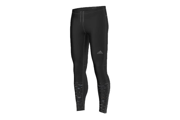 #Adidas Supernova Graphic Long Tight M - getry męskie marki z oryginalną stylistyką w okolicy piszczeli. Wykonane z doskonale oddychającego i odprowadzającego wilgoć na zewnątrz materiału. Materiał w dotyku jest cienki i delikatny. Polecane są na jesienną i wiosenną porę roku. #jesienzima2015 #getry #dlugie