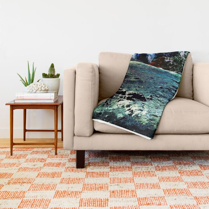 Mother Earth Throw Blanket by Azima | Society6