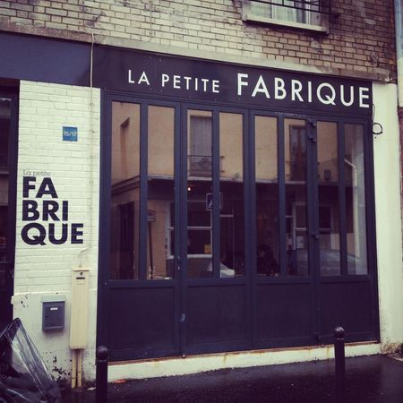 :: La Petite Fabrique,15 rue des Vignoles, 75020 Paris (brunch) :: -★-
