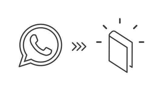 WhatsApp Nachrichten als Buch drucken lassen. So geht's  http://www.epubli.de/buch/whatsapp-nachrichten-drucken