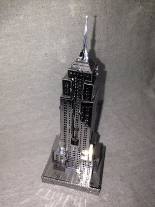 DIY:メタリック ナノパズル 〜エンパイア ステート ビル〜