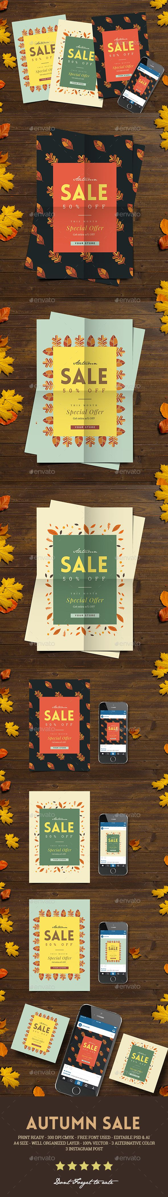 Autumn Sale Flyer Instagram Post