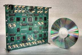 Neurogrid  With sixteen 12x14 sq-mm chips (Neurocores) assembled on a 6.5x7.5 sq-in circuit board (shown above), Neurogrid can model a slab ...