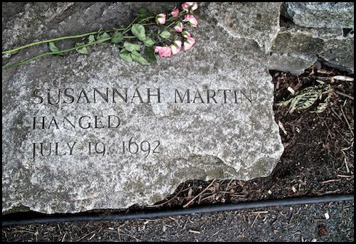 Susannah Martin, Salem Witch Trials
