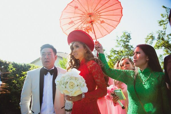 Lisa and Tuan's Rock Star Vietnamese Wedding - IQ Photography - WeddingHangerShop.com