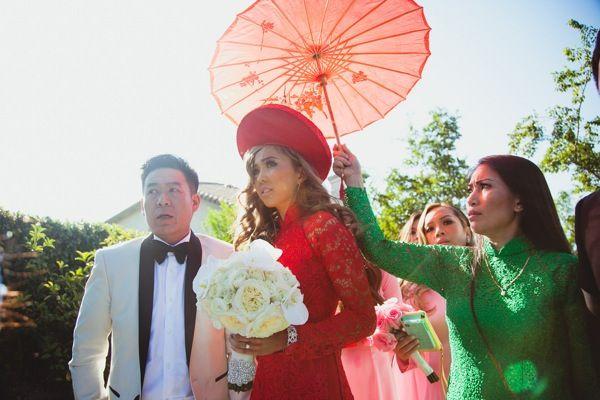 Lisa and Tuan's Rock Star Vietnamese Wedding - IQ Photography - WeddingHangerShop.com