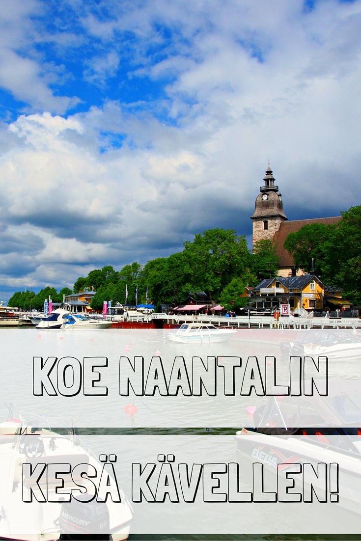Koe kesäinen Naantali kävellen | Live now – dream later -matkablogi