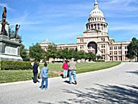Things to do in Austin Texas: Visit the Texas State Capitol