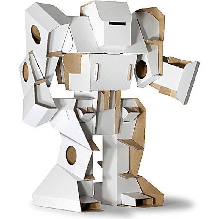 build your cardboard robot by nubie modern kids boutique