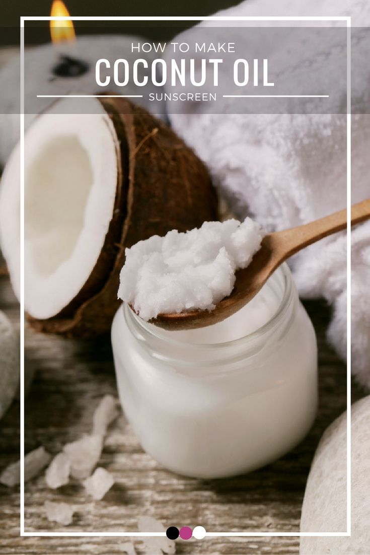 Coconut oil is packed with skin-healthy nutrients, and can work wonders. Time to uncover some simple steps to make your own coconut oil sunscreen!