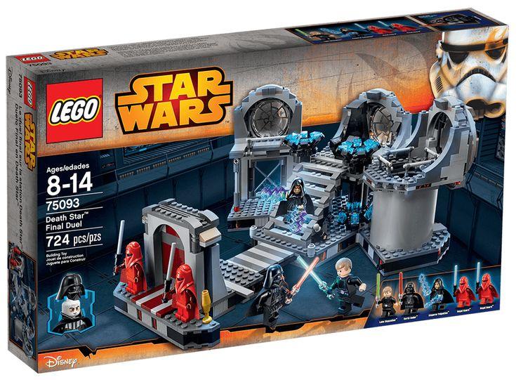 Comparez les prix du LEGO Star Wars 75093 Le duel final de l'Étoile de la Mort avant de l'acheter ! Infos, description, images, vidéos et notices du LEGO 75093 Le duel final de l'Étoile de la Mort sur Avenue de la brique